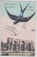 Reims à Vol D'Oiseau - Hirondelle Messagère - Reims