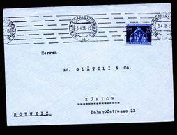 A5294) DR Brief Berlin 3.4.37 N. Zürich / Schweiz M. EF Mi.620 - Deutschland