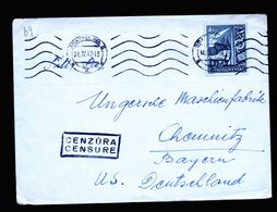 A5295) Czechoslovakia Cover From Bratislava 14.4.47 With Censorship - Briefe U. Dokumente
