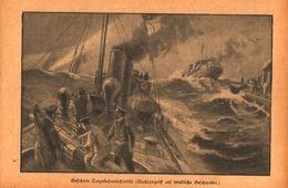 Gesichtete Torpedobootsflottille /Druck,entnommen Aus Zeitschrift /Datum Unbekannt - Books, Magazines, Comics