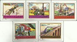 Fujeira 1971, Storia Della Ferrovia (o), Serie Completa - Fujeira