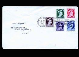 A5297) Kanada Canada FDC Ottawa 13.1.62 To US - 1952-.... Elizabeth II