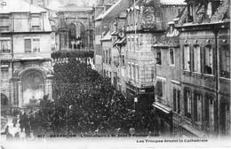 Lot De 4 CPA De BESANCON (Doubs) - Souvenirs Des Inventaires De Février 1906. 3 Ont Circulées. Bon état. 4 Scan. - Besancon