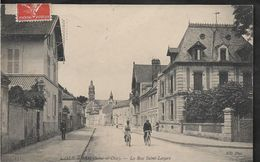 Val D'Oise L'ISLE ADAM La Rue Saint Lazare - L'Isle Adam