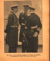 Der Kaiser Und Die Admirale /Druck,entnommen Aus Zeitschrift /Datum Unbekannt - Books, Magazines, Comics