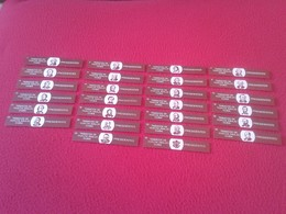 COLECCIÓN DE 26 VITOLAS CIGAR BANDS SMOKE CIGARS TABACOS VUELTA ABAJO CUBA PRESIDENTES PRESIDENTS OF THE UNITED STATES - Vitolas (Anillas De Puros)