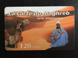 CARTE PREPAYEE LA CARTE DU MAGHREB - Prepaid Cards: Other