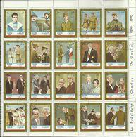 Fujeira 1971, Charles De Gaulle (o), Serie Completa In Foglio - Fujeira