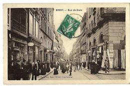 29 BREST RUE DE SIAM 1911 CPA 2 SCANS - Brest