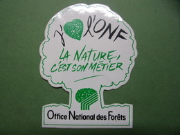 Autocollants - ONF - Office National Des Forêts - Arbre - Stickers