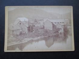PHOTO BELGIQUE (V1808) TROOZ? (1 Vue) Pht J. Martiny Liège Aunages Fin 19ème Début 20ème Moulin à Eau - Luoghi