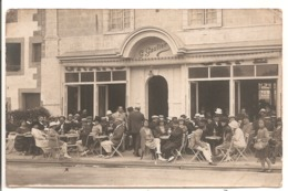 44 - LE POULIGUEN - Carte Photo Du GRAND CAFE - G. Gautier. - Le Pouliguen