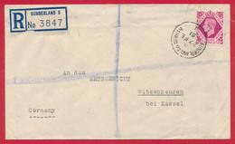 Grossbritannien Nr. 208 Auf R-Brief - 1902-1951 (Rois)