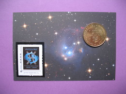 Pièce De Collection Aubagne Philatélie   N° 69/120  Signe Du Zodiaque Poisson (Nous Servons)  Avec Timbre - Other
