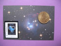 Pièce De Collection Aubagne Philatélie   N° 59/120  Signe Du Zodiaque Bélier (Je Suis )  Avec Timbre - France