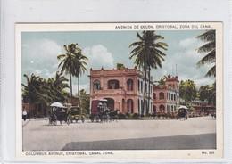 PANAMA. AVENIDA DE COLON CRISTOVAL, ZONA DEL CANAL. No 325. I L MADURO JR.-TBE-BLEUP - Panama