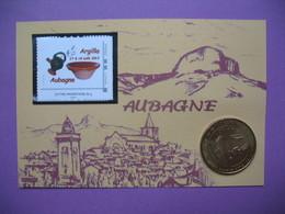"""Pièce De Collection Aubagne Philatélie   N° 105/120  Argilla 2013 """"Le Plus Grand Marché Potier De La Terre"""" Avec Timbre - Other"""