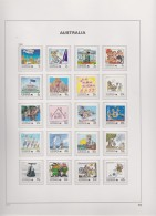 Australia   .    2 Pages With Stamps   ( 2 Scans )   .        **    .      MNH   .   /   .    Postfris - 1980-89 Elizabeth II