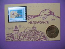 """Pièce De Collection Aubagne Philatélie   N° 24/120  Argilla 2013 """" Le Plus Grand Marché Potier De La Terre """" Avec Timbre - Other"""