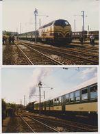 Photographie - Train - Locomotive - Luxembourg - H1 CFL 5519 + Rame Wegmann - N° 2Q - Trains