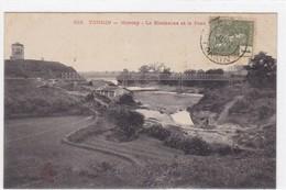 Asie - Tonkin - Montcay - Le Blockauss Et Le Pont - Viêt-Nam