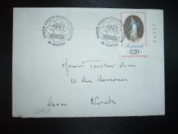 LETTRE TP FRATERNITE 2,20 BORD DE FEUILLE Numéroté OBL.17 JUIN 1989 44 NANTES COMITE LIBERTE EGALITE FRATERNITE - Révolution Française