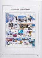 Antarctic Territory    .    Page With Stamps      .        **    .      MNH   .   /   .    Postfris - 2000-09 Elizabeth II