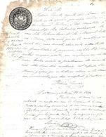 C) ECUADOR, SELLO DE LA REPUBLICA DE ECUADOR AÑO 1877 - 1878 IV - Stamps