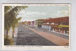 PANAMA. ULTIMA VISTA DE LA CALLE DEL FRENTE , COLON. No 530. I L MADURO.-TBE-BLEUP - Panama