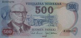 (B0761) FINLAND, 1975. 500 Markkaa. P-110a. UNC - Finland