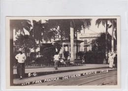 PANAMA. CITY PARK PANAMA. COUTHERN CRUISE 1926.-TBE-BLEUP - Panama