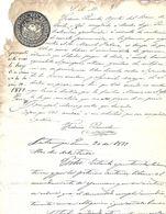 C) ECUADOR, SELLO DE LA REPUBLICA DE ECUADOR AÑO 1877 - 1878 II - Stamps