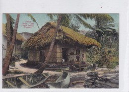 PANAMA. NATIVE HUTS, SAN MIGUEL ISLAND. No 214C. I L MADURO JR.-TBE-BLEUP - Panama