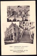 JAPAN - JAPON ---- YOKOHAMA - ORIENTAL PALACE HOTEL - TRIPLE MULTI VUE --- RARE !! Perfect - As New Though 100 Years Old - Yokohama