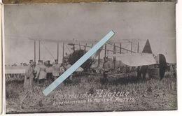 Furnes Flandern Flandres 1915/1916 Fe2B Anglais Capturé  1carte Photo Ww1 1914-1918 - Krieg, Militär