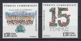 TURKEY 2017 DEMOCRACY AND NATIONAL UNION DAY - 1921-... República