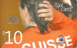 CARTE-PUCE-SUISSE-10CHF-TAXCARD-UEFA EURO 2008-JOUEUR SUISSE HAKAN YAKIN-TBE - Suisse