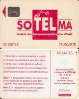 292/ Mali; P5. Red Logo, CN 40689 - Mali