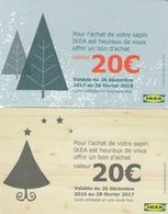 Carte  Cadeau ##  IKEA   ##   (FRANCE) Gift Card, Giftcart, Carta Regalo, Cadeaukaart - Gift Cards