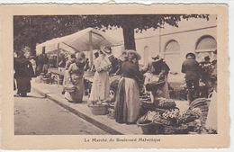 Genève - Le Marché Du Boulevard Helvétique - 1912       (P-123-60927) - GE Genève