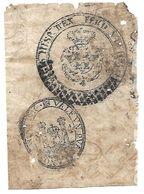 C) ECUADOR, SELLOS COLONIALES - Stamps