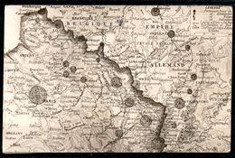 CP00-11 : Cartographie Militaire Forteresse Nord Est France 1910 - Militaria