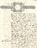 C) ECUADOR, SELLO TERCERO POR 4 REALES CON SELLO CALADO ANOS 1850 - 1851 - Stamps