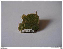 507 Ième RCC Régiment Des Chars De Combat Armée Char Et Casque - Militari