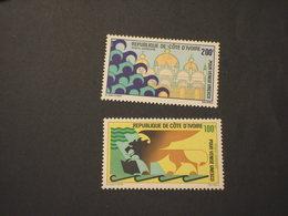 COTE D'IVOIRE - P.A. 1972 VENEZIA 2 VALORI  - NUOVI(++) - Costa D'Avorio (1960-...)