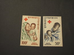 COTE D'IVOIRE - P.A. 1965 CROCE ROSSA 2 VALORI - NUOVI(++) - Costa D'Avorio (1960-...)
