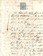 C) ECUADOR, LIBROS DE COMMERCIO 1874 50c. DE PESETA Pg 80 - Stamps