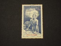 COTE D'IVOIRE - P.A. 1942 QUINZAINE - NUOVO(+) - Costa D'Avorio (1960-...)