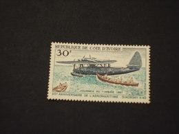 COTE D'IVOIRE - 1967 AEREO - NUOVO(++) - Costa D'Avorio (1960-...)