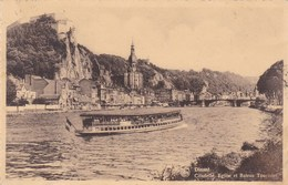 Dinant, Citadelle, Eglise Et Bateau Touristes (pk45282) - Dinant